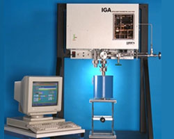 IGA - Intelligent Gravimetric Analyser